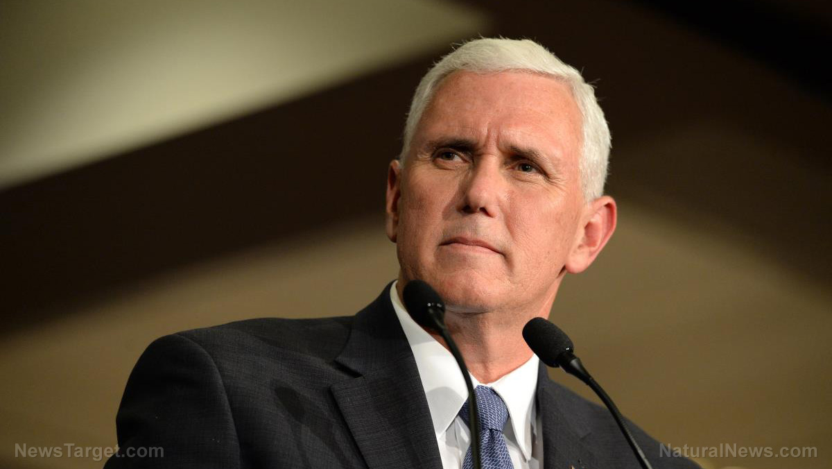 Bekommt Mike Pence Live im TV eine Fake-Impfung?