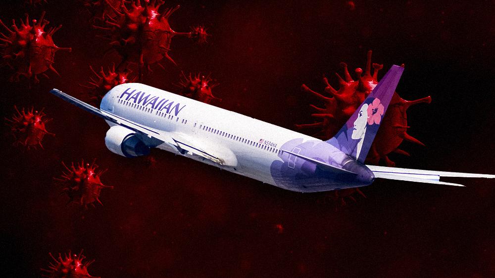 US-Gesundheitsministerium meldet den Fluggesellschaften, wem sie die Boarding-Privilegien verweigern soll, damit die Impfstoffindustrie bestimmen kann, wer fliegen darf