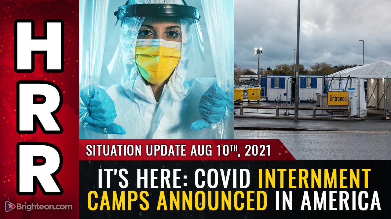 ковидные лагеря в Америке